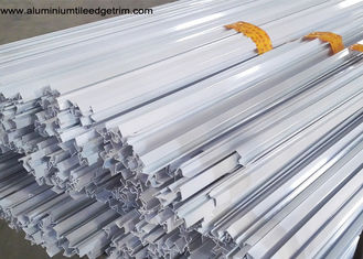 Powder Coating White Aluminium Fixed Window Extrusion Profiles Strong Wind Resistance